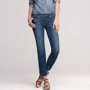 J.CREW Straight and Narrow Jeans W30 L30 Med Wash